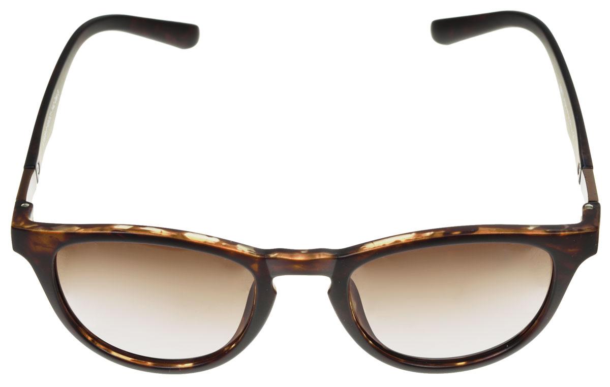 Очки солнцезащитные женские Fabretti, цвет: темно-коричневый. A1608-9BM8434-58AEСолнцезащитные женские очки Fabretti выполнены с линзами из высококачественного пластика.Используемый пластик не искажает изображение, не подвержен нагреванию и вредному воздействию солнечных лучей, защищает от бликов, повышает контрастность и четкость изображения, снижает усталость глаз и обеспечивает отличную видимость. Линзы имеют степень затемнения Cat. 3.Пластиковая оправа очков легкая, прилегающей формы и поэтому не создает никакого дискомфорта.Такие очки защитят глаза от ультрафиолетовых лучей, подчеркнут вашу индивидуальность и сделают ваш образ завершенным.