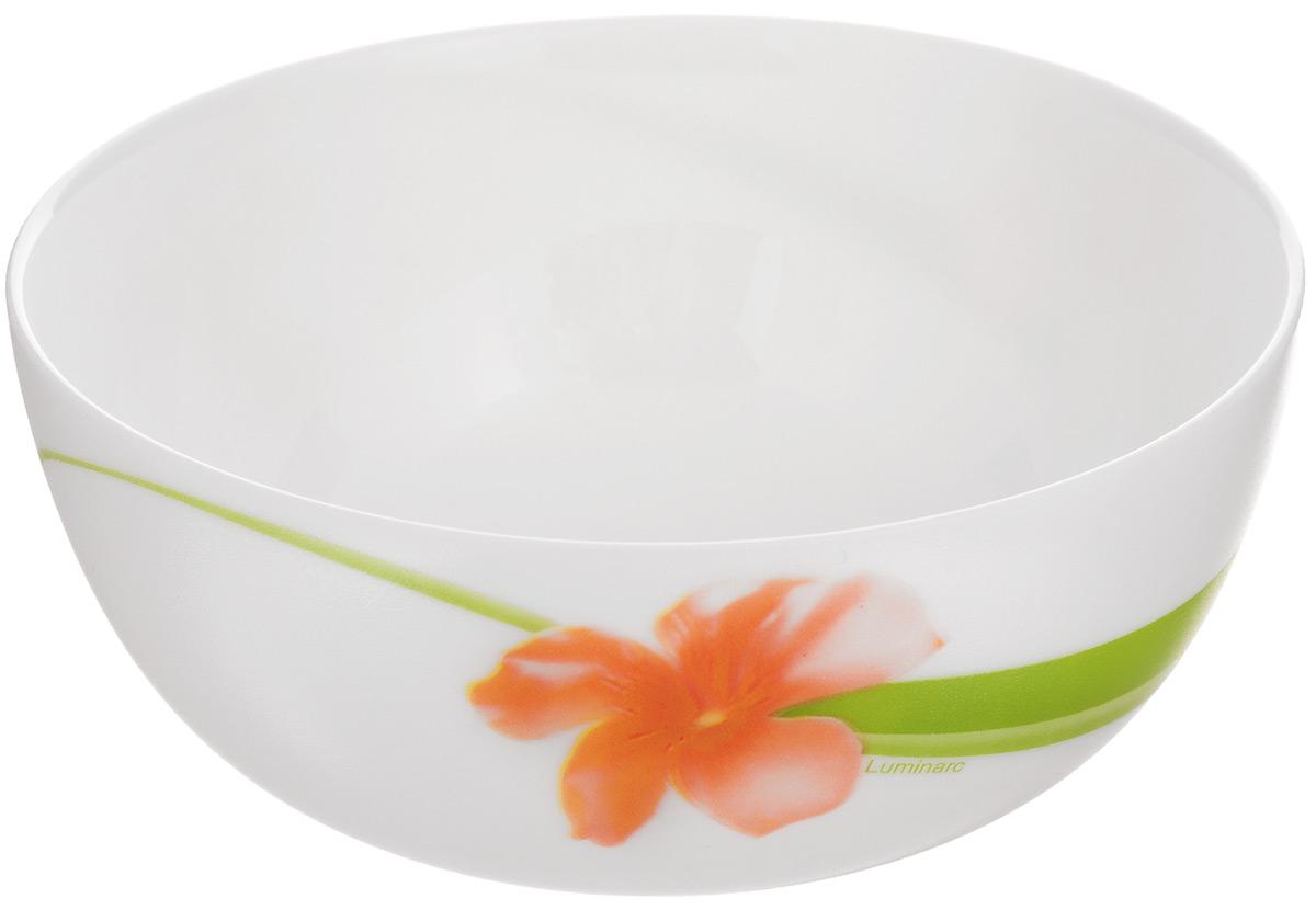 Салатник Luminarc Sweet Impression, диаметр 12 см115510Салатник Luminarc Sweet Impression, изготовленный из высококачественного стекла, прекрасно впишется в интерьер вашей кухни и станет достойным дополнением к кухонному инвентарю. Салатник оформлен ярким рисунком. Такой салатник не только украсит ваш кухонный стол и подчеркнет прекрасный вкус хозяйки, но и станет отличным подарком.Диаметр по верхнему краю: 12 см.Высота салатника: 5,5 см.