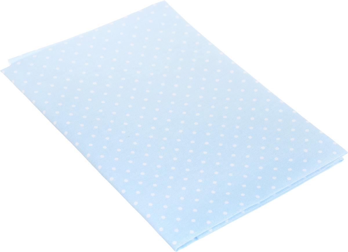 Ткань для пэчворка Артмикс Горошек, цвет: голубой, белый, 48 х 50 см1021083Ткань Артмикс Горошек, изготовленная из 100% хлопка, предназначена для пошива одеял, покрывал, сумок, аппликаций и прочих изделий в технике пэчворк. Также подходит для пошива кукол, аксессуаров и одежды.Пэчворк - это вид рукоделия, при котором по принципу мозаики сшивается цельное изделие из кусочков ткани (лоскутков). Плотность ткани: 120 г/м2.УВАЖАЕМЫЕ КЛИЕНТЫ!Обращаем ваше внимание, на тот факт, что размер отреза может отличаться на 1-2 см.