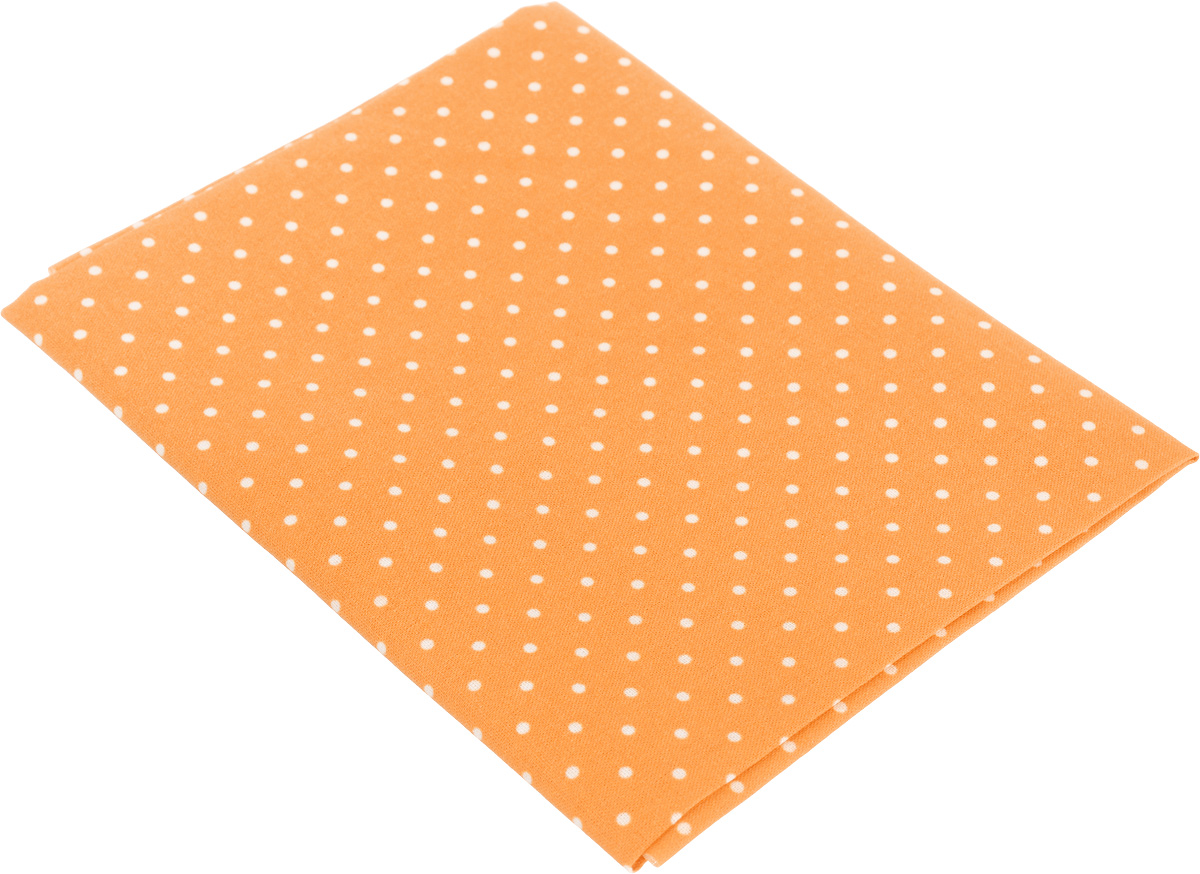Ткань для пэчворка Артмикс Горошек, цвет: оранжевый, белый, 48 х 50 см39639Ткань Артмикс Горошек, изготовленная из 100% хлопка, предназначена для пошива одеял, покрывал, сумок, аппликаций и прочих изделий в технике пэчворк. Также подходит для пошива кукол, аксессуаров и одежды.Пэчворк - это вид рукоделия, при котором по принципу мозаики сшивается цельное изделие из кусочков ткани (лоскутков). Плотность ткани: 120 г/м2.УВАЖАЕМЫЕ КЛИЕНТЫ!Обращаем ваше внимание, на тот факт, что размер отреза может отличаться на 1-2 см.