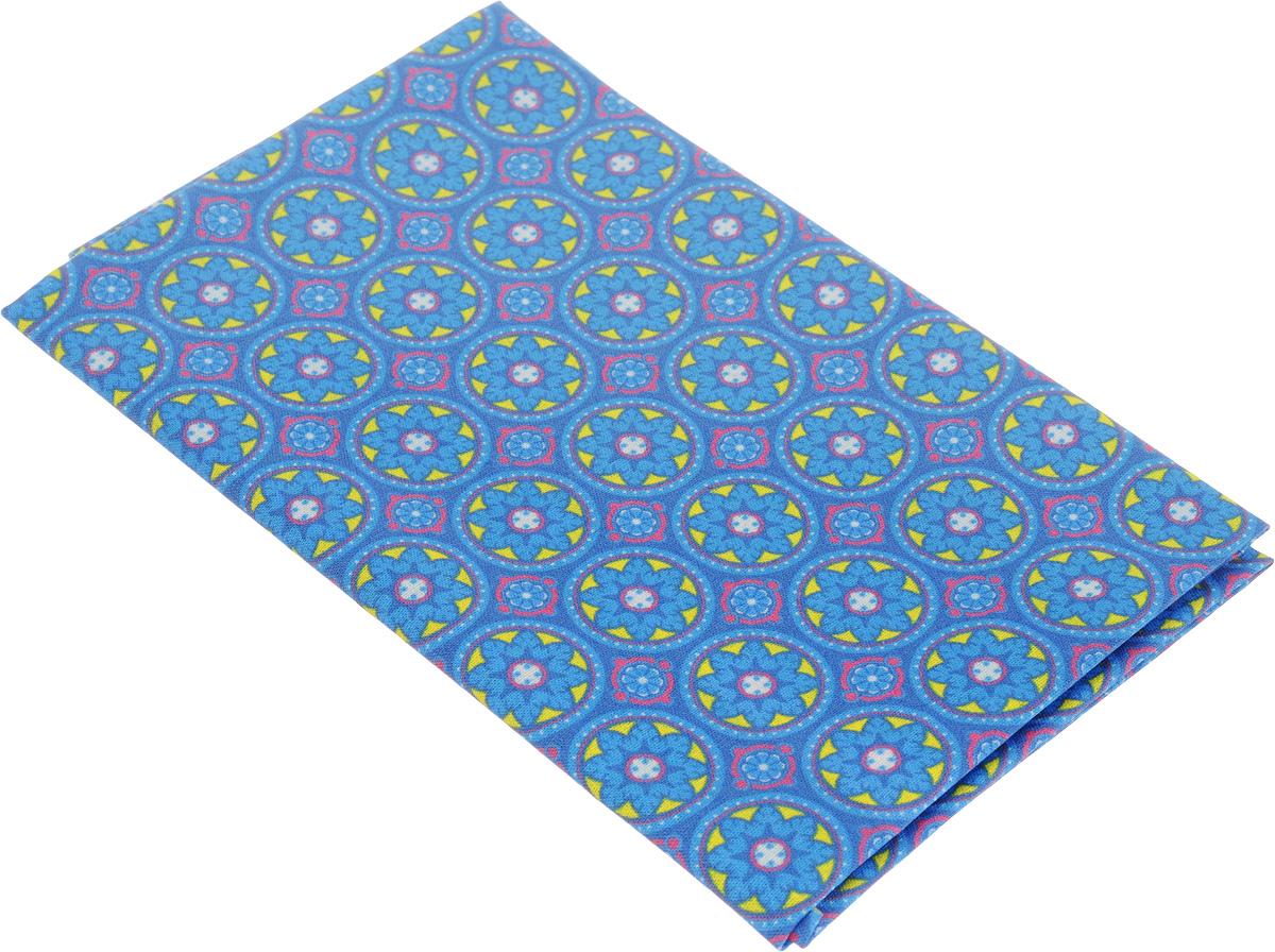 Ткань для пэчворка Артмикс Пейсли, цвет: голубой, желтый, 48 х 50 см. AM60401209840-20.000.00Ткань Артмикс Пейсли, изготовленная из 100% хлопка, предназначена для пошива одеял, покрывал, сумок, аппликаций и прочих изделий в технике пэчворк. Также подходит для пошива кукол, аксессуаров и одежды.Пэчворк - это вид рукоделия, при котором по принципу мозаики сшивается цельное изделие из кусочков ткани (лоскутков). Плотность ткани: 120 г/м2.УВАЖАЕМЫЕ КЛИЕНТЫ!Обращаем ваше внимание, на тот факт, что размер отреза может отличаться на 1-2 см.