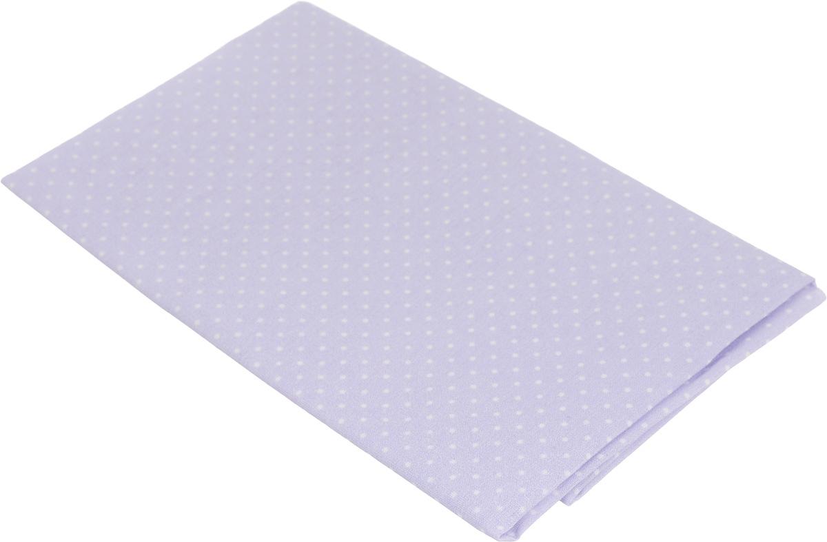Ткань для пэчворка Артмикс Мелкий горошек, цвет: сиреневый, белый, 48 х 50 смNN-612-LS-PLТкань Артмикс Мелкий горошек, изготовленная из 100% хлопка, предназначена для пошива одеял, покрывал, сумок, аппликаций и прочих изделий в технике пэчворк. Также подходит для пошива кукол, аксессуаров и одежды.Пэчворк - это вид рукоделия, при котором по принципу мозаики сшивается цельное изделие из кусочков ткани (лоскутков). Плотность ткани: 120 г/м2.УВАЖАЕМЫЕ КЛИЕНТЫ!Обращаем ваше внимание, на тот факт, что размер отреза может отличаться на 1-2 см.