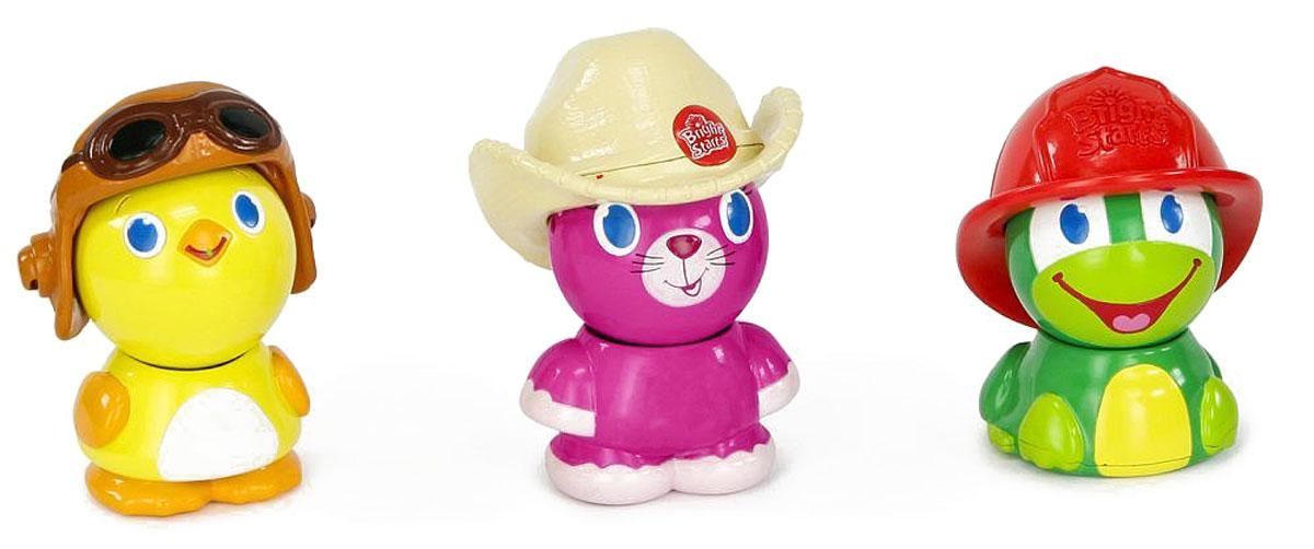 Bright Starts Развивающая игрушка Магнитные друзья Лягушка кот цыпленок