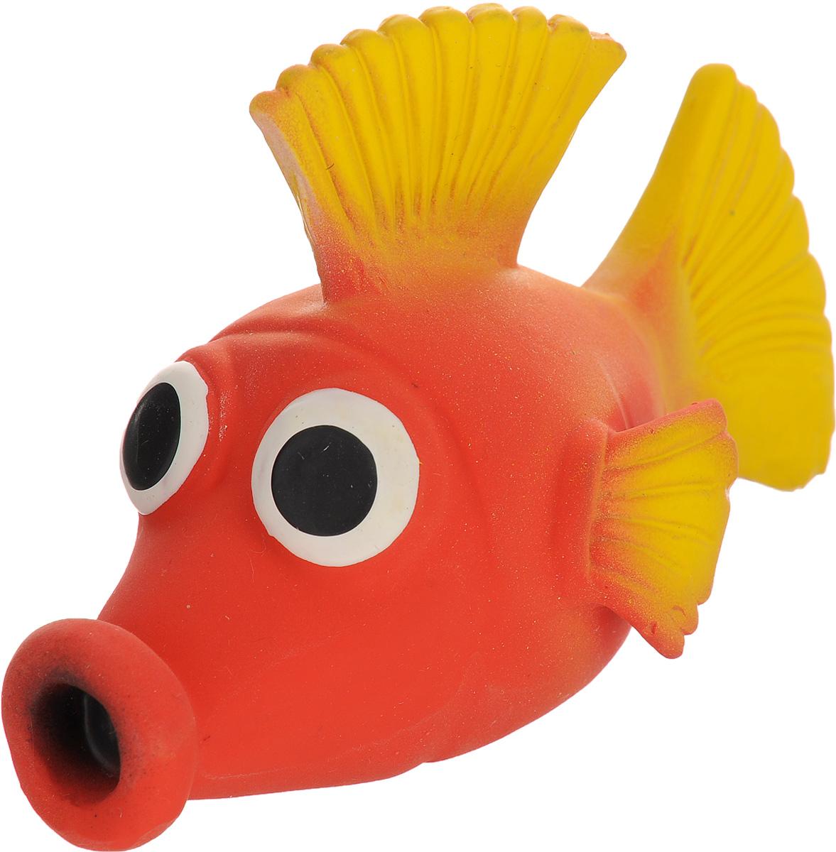 Игрушка для собак Beeztees I.P.T.S. Рыбка, цвет: красный, желтый0120710Игрушка для собак Beeztees I.P.T.S. изготовлена из безопасного латекса в форме забавной рыбки с большими глазами. Игрушка снабжена пищалкой. Предназначена для игр с собаками разных возрастов. Такая игрушка привлечет внимание вашего любимца и не оставит его равнодушным.