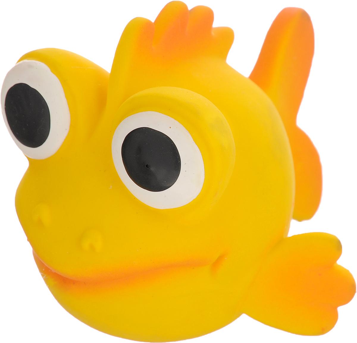 Игрушка для собак Beeztees I.P.T.S. Рыбка, цвет: желтый, оранжевый0120710Игрушка для собак Beeztees I.P.T.S. изготовлена из безопасного латекса в форме забавной рыбки с большими глазами. Игрушка снабжена пищалкой. Предназначена для игр с собаками разных возрастов. Такая игрушка привлечет внимание вашего любимца и не оставит его равнодушным.