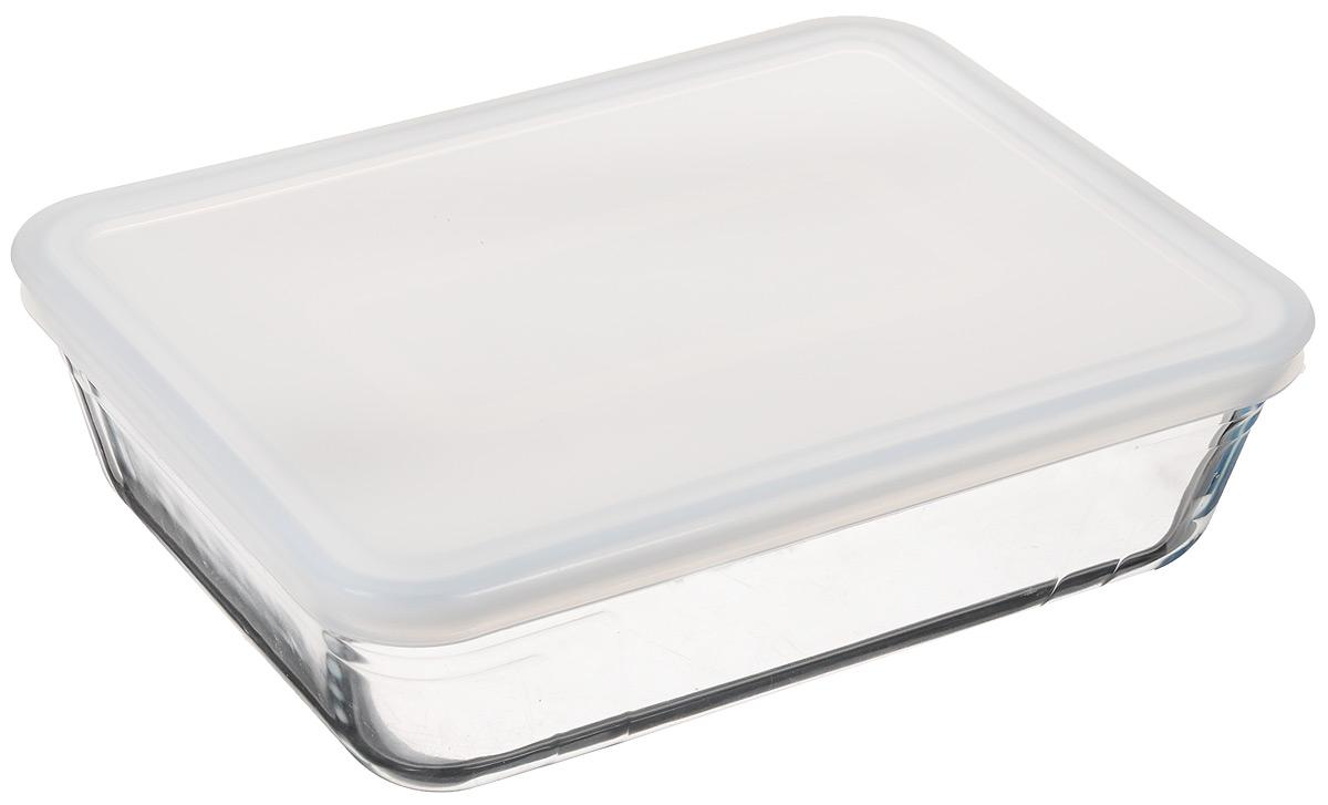 Форма для запекания Pyrex Cook & Store, прямоугольная, с крышкой, 22 х 17 смFS-91909Прямоугольная форма для запекания Pyrex Cook & Store изготовлена из жаропрочного стекла,которое выдерживает температуру до +300°С. Форма предназначена дляприготовления горячих блюд и оснащена крышкой. Материал изделия гигиеничен, прост в уходе и обладает высокой степенью прочности. Форма идеально подходит для использования в духовках, микроволновых печах,холодильниках и морозильных камерах. Размер формы (по верхнему краю): 22 х 17 см.Высота стенки: 6 см.