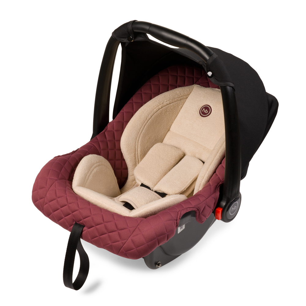 Happy Baby Автокресло Skyler Bordo до 13 кг