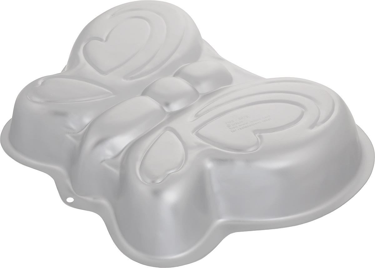 Форма для выпечки Wilton Бабочка, 33 х 25,5 х 5,2 см239B000Форма Wilton Бабочка, изготовленная из высококачественного алюминия, идеально подходит для выпечки кондитерских изделий. Порадуйте себя и своих близких оригинальными и вкусными угощениями.Подходит для использования в духовом шкафу.