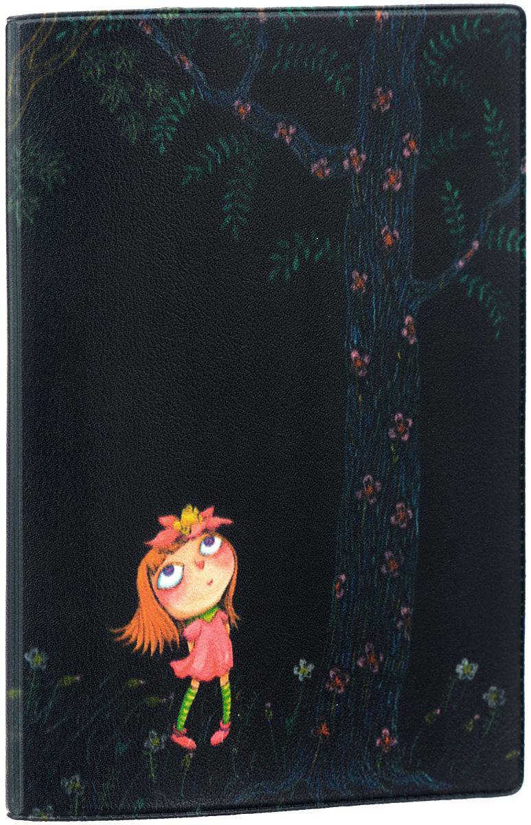Обложка для паспорта Mitya Veselkov Девочка в розовом платье ночью, цвет: черный. OZAM346OZAM230Обложка для паспорта Mitya Veselkov Девочка в розовом платье ночью не только поможет сохранить внешний вид ваших документов и защитить их от повреждений, но и станет стильным аксессуаром, идеально подходящим вашему образу. Обложка выполнена из поливинилхлорида и оформлена оригинальным изображением девочки в платье. Внутри имеет два вертикальных кармана из прозрачного пластика. Такая обложка поможет вам подчеркнуть свою индивидуальность и неповторимость! Обложка для паспорта стильного дизайна может быть достойным и оригинальным подарком.