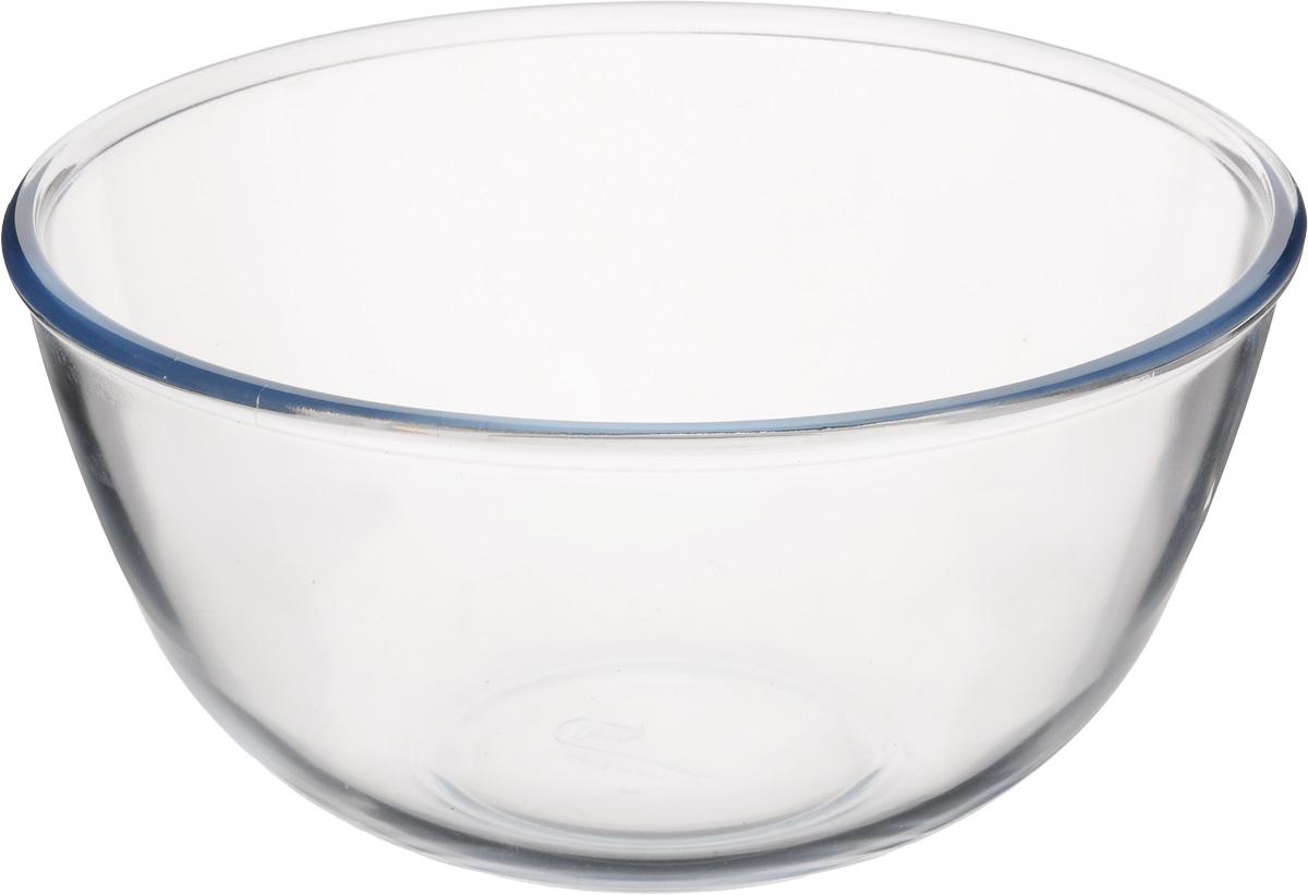 Салатник Pyrex Classic, 3 л115510Салатник Pyrex Classic выполнен из ударопрочного стекла и имеет классическую круглую форму. Яркий дизайн придется по вкусу и ценителям классики, и тем, кто предпочитает утонченность и изысканность. Салатник Pyrex Classic идеально подойдет для сервировки стола и станет отличным подарком к любому празднику.Диаметр салатника (по верхнему краю): 21 см.