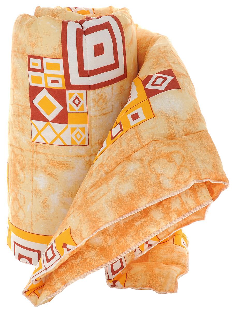 Одеяло Sleeper Дили, наполнитель: силиконизированное волокно, цвет: оранжевый, белый, красный, 140 х 200 см531-105Одеяло Sleeper Дили подарит уютный и комфортный сон. Чехол одеяла выполнен из микрофибры, наполнитель - силиконизированное волокно. Изделие с синтетическим наполнителем: - не вызывает аллергических реакций; - воздухопроницаемо; - не впитывает запахи; - имеет удобную форму. Рекомендации по уходу: - Стирка при температуре не более 40°С. - Запрещается отбеливать, гладить.Материал чехла: микрофибра (100% полиэстер).Наполнитель: силиконизированное волокно.Масса наполнителя: 0,40 кг.