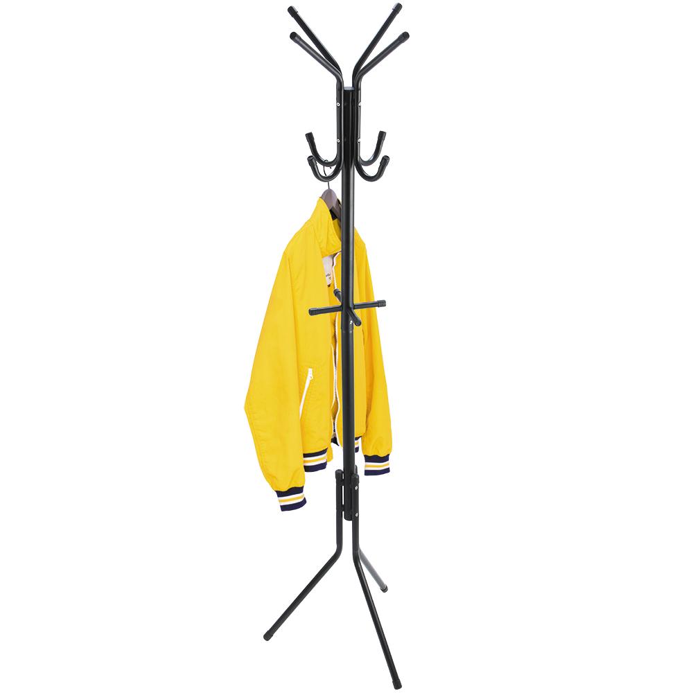 Напольная вешалка ArtMoon Root, 12 крючков, 44,5 х 38 х 175 см699324Устойчивая напольная вешалка для одежды ArtMoon Root выполнена из стали с черным порошковым напылением и выдерживает вес до 10 кг.Особенности:Базовая долговечная модель для дома или офиса.12 удобных крючков для верхней одежды, шляп, сумок и зонтов.Быстрая сборка, компактная упаковка, инструкция на упаковке. Толщина труб: 32/19 мм. Размеры: 44,5 х 38 х 175 см.
