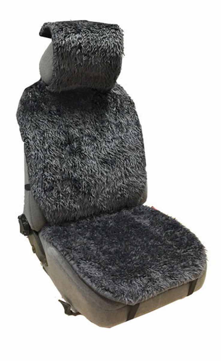 Накидка Auto Premium, на полное сидение, цвет: серыйCA-3505Накидка на сиденье автомобиля Auto Premium выполнена из искусственного меха. Универсальный размер позволит установить накидку на любой тип сидения автомобиля. Накидка станет незаменимым аксессуаром при эксплуатации автомобиля в зимний период.