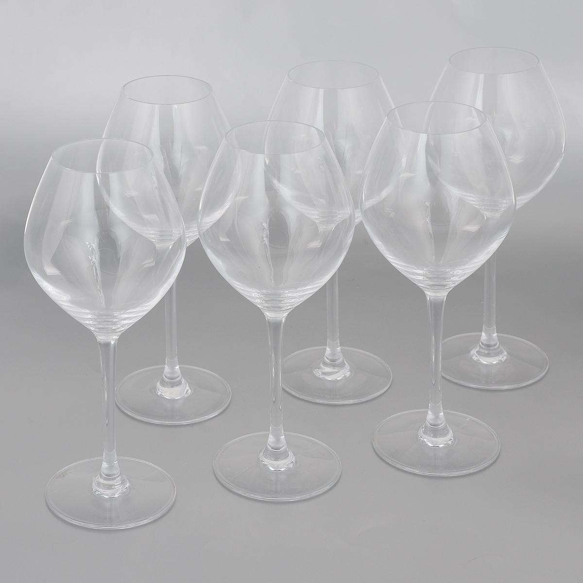 Набор фужеров Cristal dArques Wine Emotions, 470 мл, 6 штVT-1520(SR)Набор Cristal dArques Wine Emotions состоит из 6 фужеров на длинных ножках,из специально разработанного стекла Diamax. Такой набор прекрасно дополнит праздничный стол и станет желанным подарком в любом доме.Диаметр фужера (по верхнему краю): 6 см. Высота фужера: 22 см. Диаметр основания фужера: 8 см.