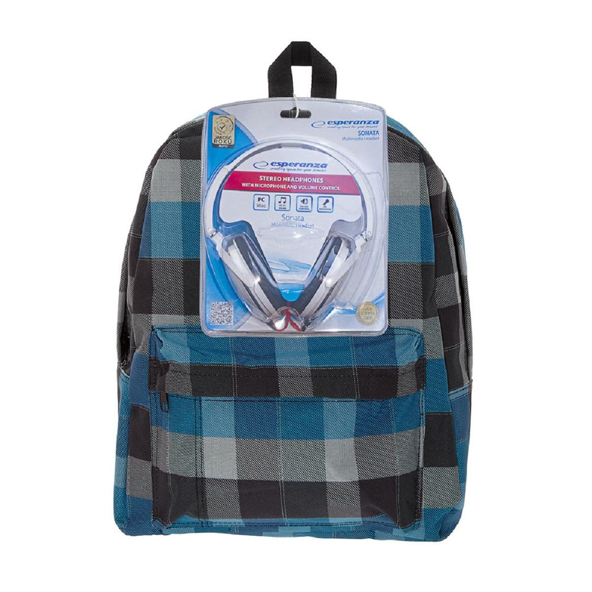 Рюкзак городской 3D Bags Клетка, 16 л + ПОДАРОК: НаушникиRU-601-2/10Стильный, вместительный и практичный, рюкзак понравится и школьникам, и студентам. Просторный внутренний отсек, наружний карман на молнии будут очень удобны в использовании. Клетка еще никогда не была такой крутой! В комплект входят белые стереонаушники с мягкими ушными подушками. Длина кабеля 2м, разъем 3,5мм, сопротивление 32 Ом, диапазон часто - 20 Гц-20000 Гц, выходная мощность - 100 мВт.Наушники поставляются в цветовом ассортименте. Поставка осуществляется в зависимости от наличия на складе.