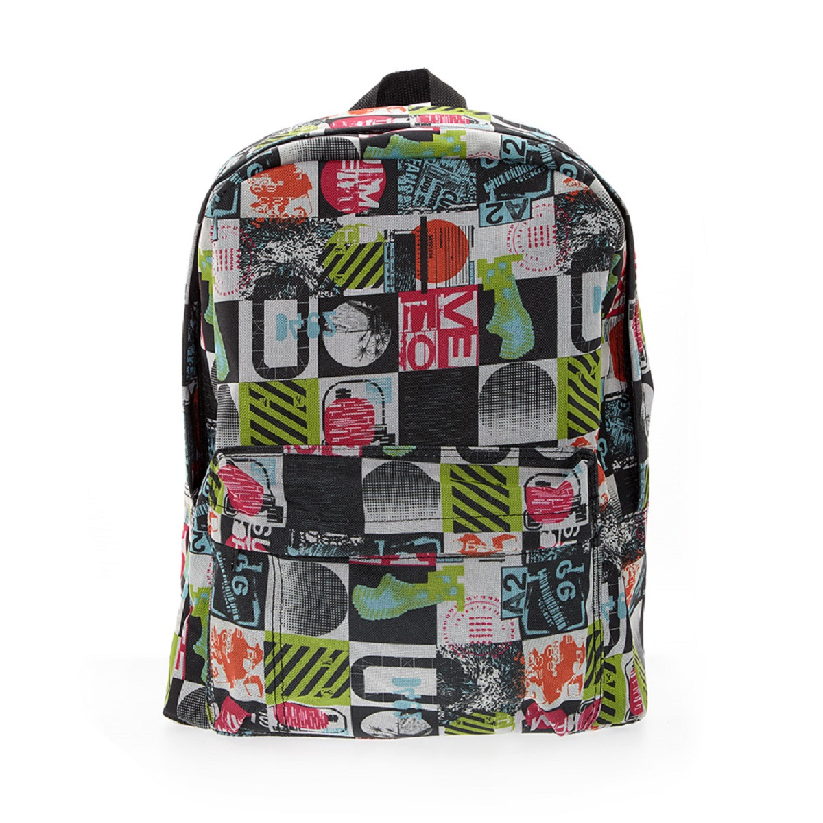 Рюкзак городской 3D Bags Луна, 16 л3DBC490Стильный, вместительный и практичный, рюкзак понравится и школьникам, и студентам. Просторный внутренний отсек, наружний карман на молнии будут очень удобны в использовании.