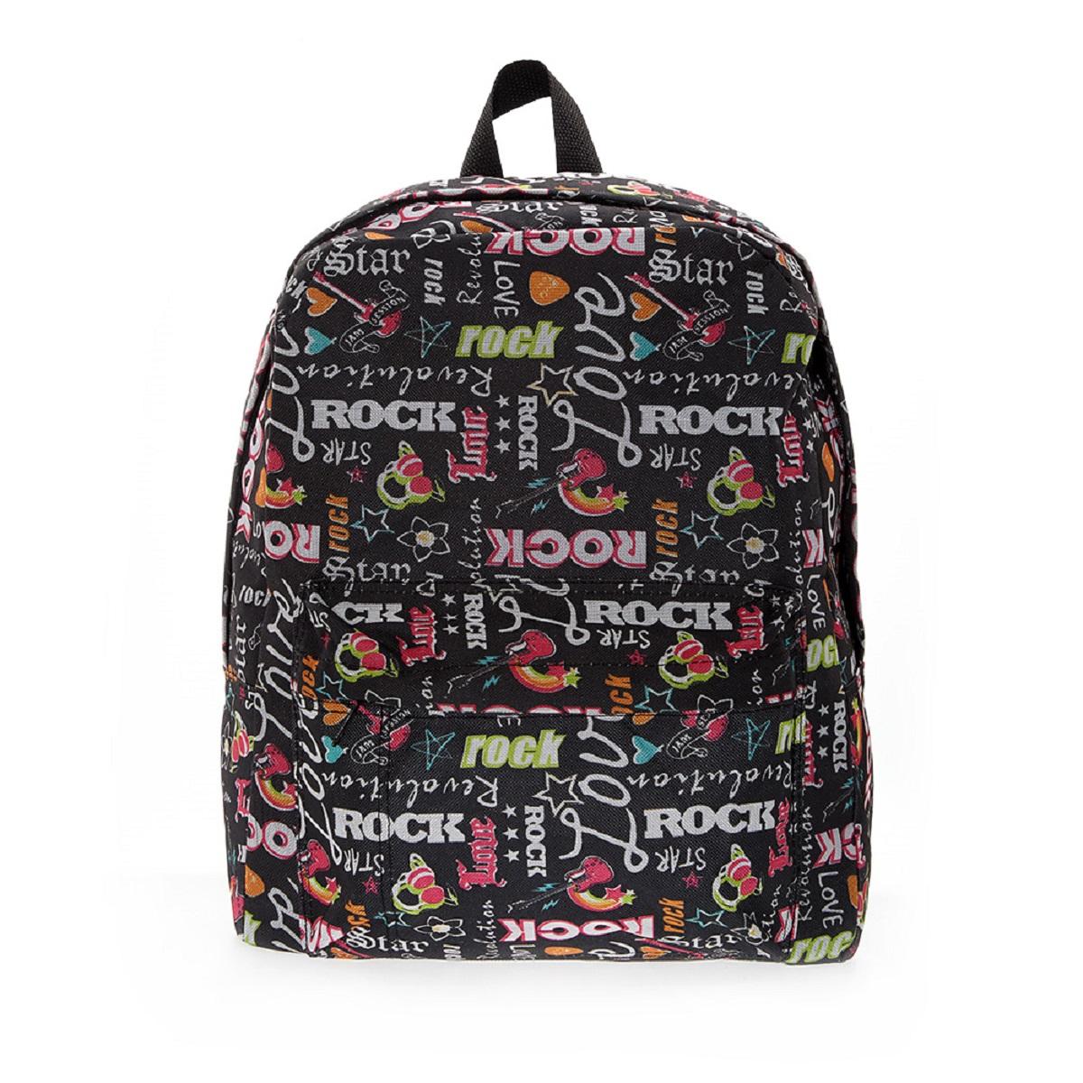 Рюкзак городской 3D Bags Рок-Стар, 16 лRivaCase 7560 redСтильный, вместительный и практичный, рюкзак понравится и школьникам, и студентам. Просторный внутренний отсек, наружний карман на молнии будут очень удобны в использовании. Настоящая находка для будущей рок-звезды!