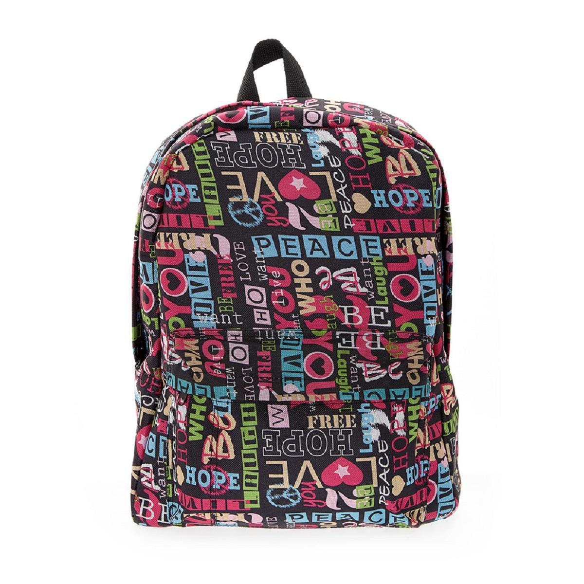 Рюкзак городской 3D Bags Хиппи, 16 л24040-635Стильный, вместительный и практичный, рюкзак понравится и школьникам, и студентам. Просторный внутренний отсек, наружний карман на молнии будут очень удобны в использовании.