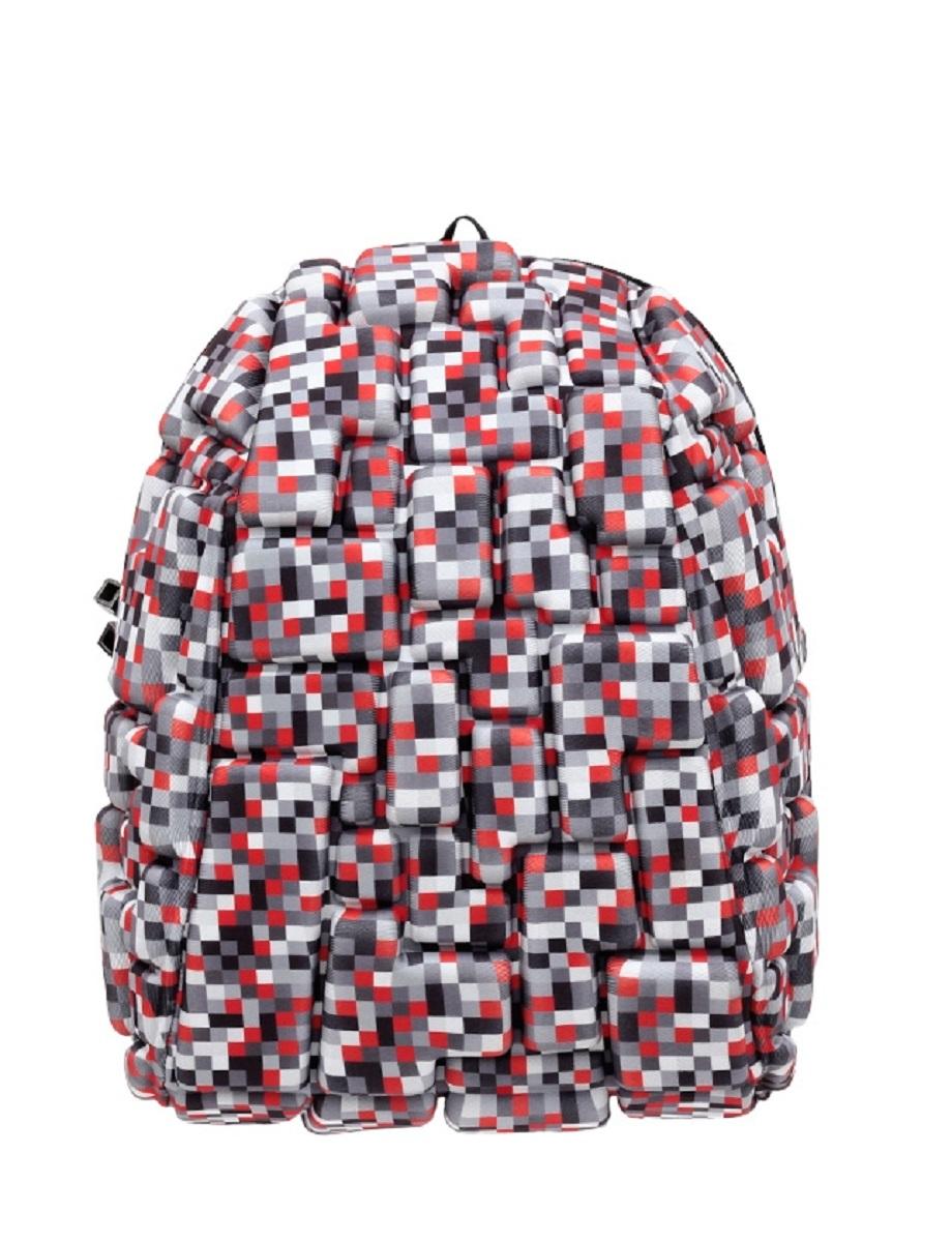 Рюкзак молодежный MadPax Blok Half, 16 лKAA24484213Легкий и вместительный рюкзак с одним основным отделением с застежкой на молниии. В основное отделение с легкостью входит ноутбук размером диагонали 13 дюймов, iPad и формат А4. Незаменимый аксессуар как для активного городского жителя, так и для школьников и студентов. Широкие лямки можно регулировать для наиболее удобной посадки, а мягкая ортопедическая спинка делает ношение наиболее удобным и комфортным.