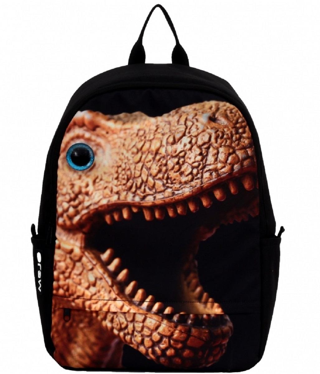 Рюкзак молодежный Mojo Dino with 3D eye, цвет: черный, 20 лKAA9984580Особенности рюкзака Mojo:Выполнен из высококачественного полиэстера и покрыт полиуретановым слоем, препятствующим выгоранию на солнце и проникновению внутрь воды.Вместительный отсек для вещей, а также отсек для планшета с плотной подкладкой.Переносить рюкзак удобно за прочную текстильную ручку.Уплотнены ремни, спинка и дно рюкзака.Мягкие регулируемые наплечные лямки.Фирменная массивная молния Mojo.Светится в ультрафиолете.