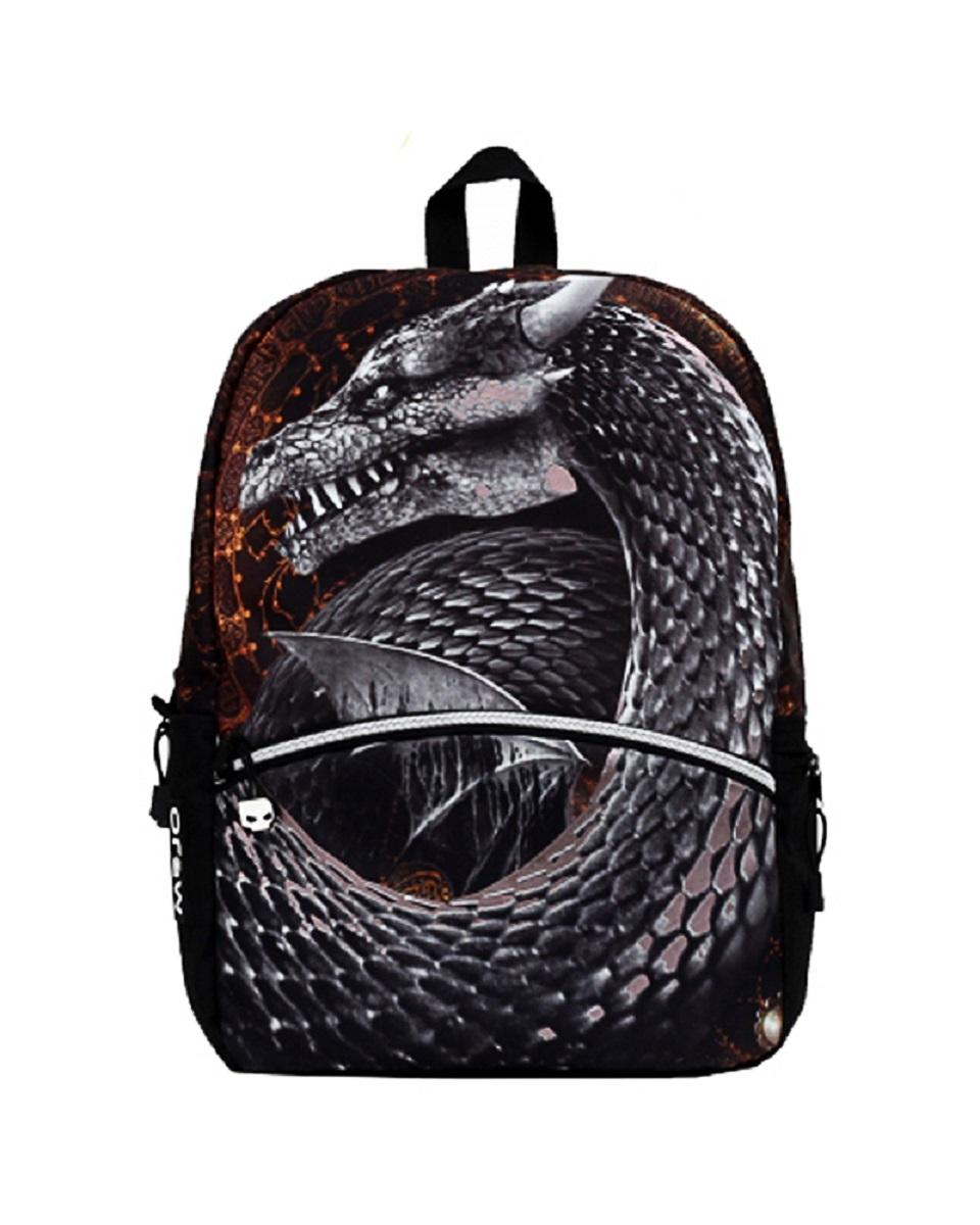 Рюкзак молодежный Mojo Silver Dragon, цвет: серый, 20 лZ90 blackОсобенности рюкзака Mojo Silver Dragon:Выполнен из высококачественного полиэстера и покрыт полиуретановым слоем, препятствующим выгоранию на солнце и проникновению внутрь воды.Вместительный отсек для вещей, а также отсек для планшета с плотной подкладкой.Переносить рюкзак удобно за прочную текстильную ручку.Уплотнены ремни, спинка и дно рюкзака.Мягкие регулируемые наплечные лямки.Фирменная массивная молния Mojo.Светится в ультрафиолете.