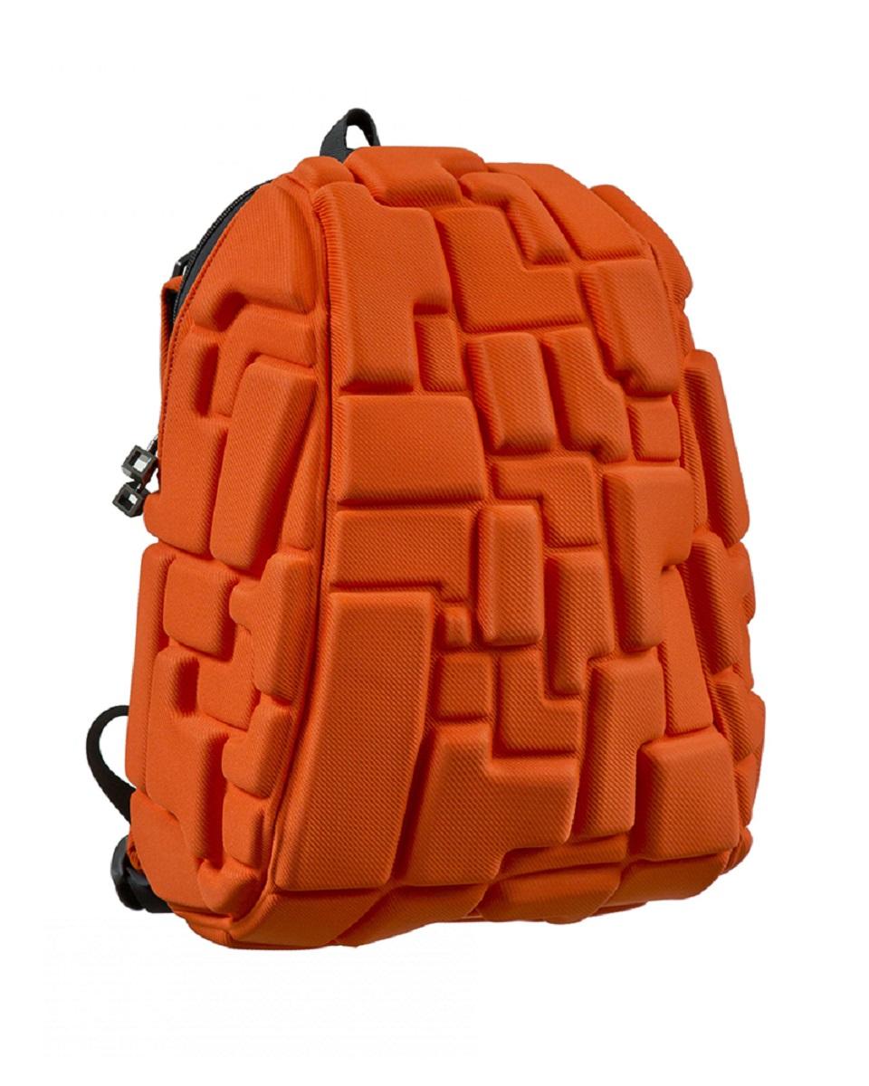 Рюкзак молодежный MadPax Blok Half, цвет: оранжевый, 16 лKZ24484018Легкий и вместительный рюкзак MadPax Blok Half с одним основным отделением с застежкой на молнии. В основное отделение с легкостью входит ноутбук размером диагонали 13 дюймов, iPad и формат А4. Незаменимый аксессуар как для активного городского жителя, так и для школьников и студентов. Широкие лямки можно регулировать для наиболее удобной посадки, а мягкая ортопедическая спинка делает ношение наиболее удобным и комфортным.