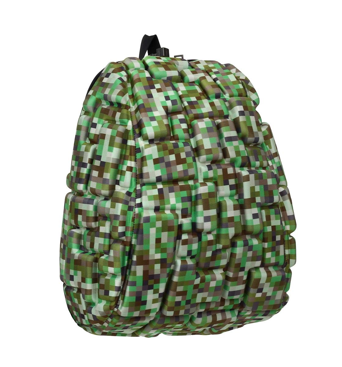 Рюкзак молодежный MadPax Blok Half, 16 лKZ24484104Легкий и вместительный рюкзак с одним основным отделением с застежкой на молниии. В основное отделение с легкостью входит ноутбук размером диагонали 13 дюймов, iPad и формат А4. Незаменимый аксессуар как для активного городского жителя, так и для школьников и студентов. Широкие лямки можно регулировать для наиболее удобной посадки, а мягкая ортопедическая спинка делает ношение наиболее удобным и комфортным.
