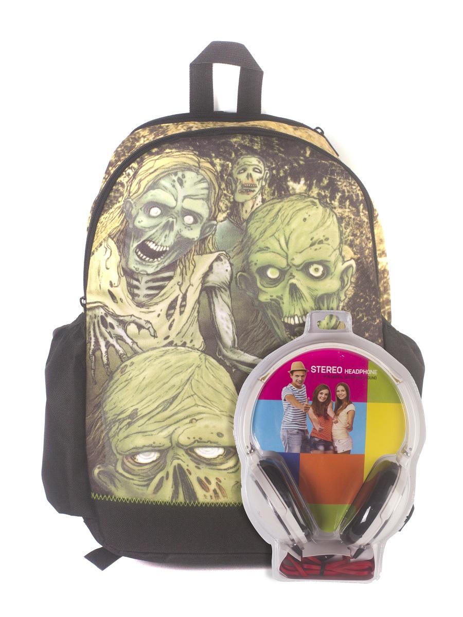 Рюкзак молодежный Mojo Walking Dead, цвет: черный, 22 л + ПОДАРОК: НаушникиWA-1505017СТРАШНО? ТАК И БЫЛО ЗАДУМАНО!Жутковатый хорор — стиль для тех, кто не боится удивлять и шокировать.Такой рюкзак может стать самым заметным аксессуаром в твоей коллекции. Mojo — это смелые решения и продуманные образы для каждого! А ещё он светится в темноте!Наушники поставляются в цветовом ассортименте. Поставка осуществляется в зависимости от наличия на складе.
