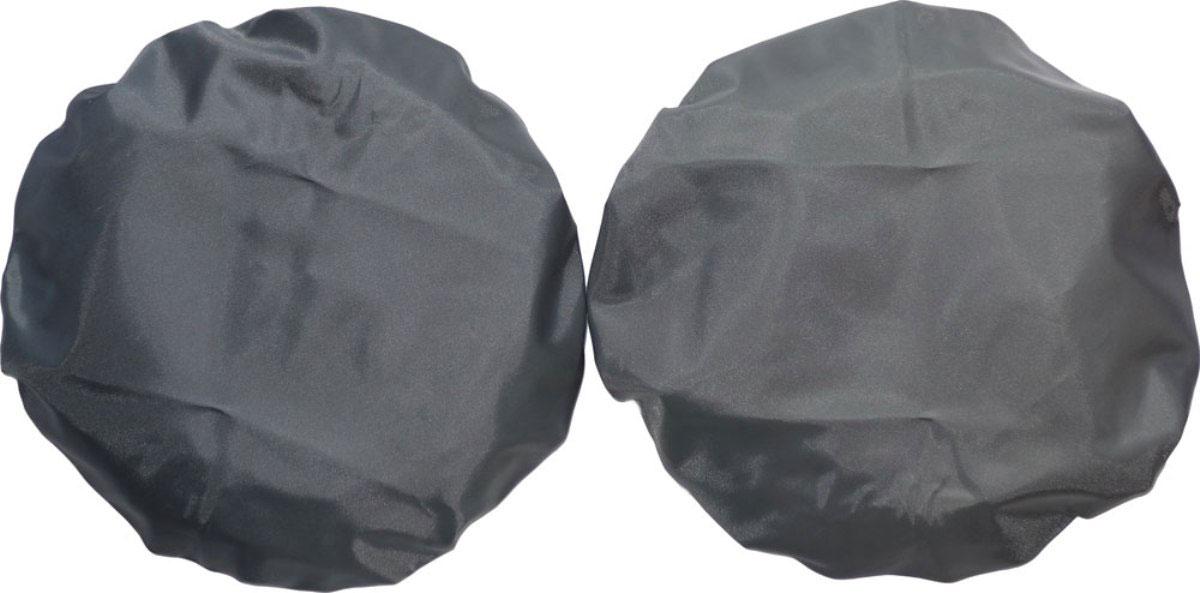 Чудо-Чадо Чехлы на колеса для коляски диаметр 28-38 см цвет мокрый асфальт 2 шт -  Аксессуары для колясок