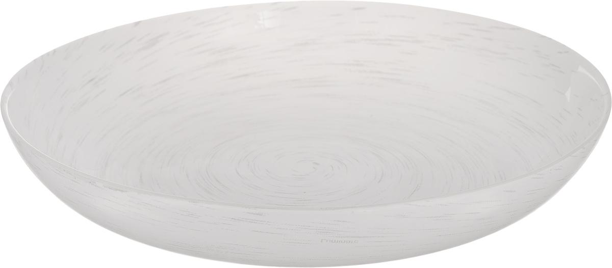 Тарелка глубокая Luminarc Stonemania White, диаметр 20 смH3543Глубокая тарелка Luminarc Stonemania White выполнена из ударопрочного стекла и имеет классическую круглую форму. Она прекрасно впишется в интерьер вашей кухни и станет достойным дополнением к кухонному инвентарю. Тарелка Luminarc Stonemania White подчеркнет прекрасный вкус хозяйки и станет отличным подарком. Диаметр тарелки (по верхнему краю): 20 см.