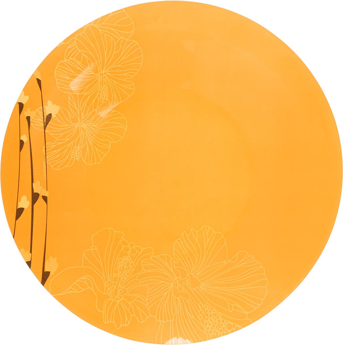 Тарелка глубокая Luminarc Rhapsody Orange, диаметр 21,2 см115510Глубокая тарелка Luminarc Rhapsody Orange, изготовленная из ударопрочного стекла, имеет изысканный внешний вид. Яркий дизайн придется по вкусу и ценителям классики, и тем, кто предпочитает утонченность. Тарелка Luminarc Rhapsody Orange идеально подойдет для сервировки различных блюд, а также станет отличным подарком к любому празднику.Диаметр тарелки (по верхнему краю): 21,2 см.