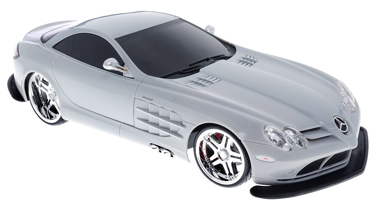 Maisto Радиоуправляемая модель Mercedes SLR McLaren цвет серый maisto модель автомобиля 2014 corvette stingray цвет красный
