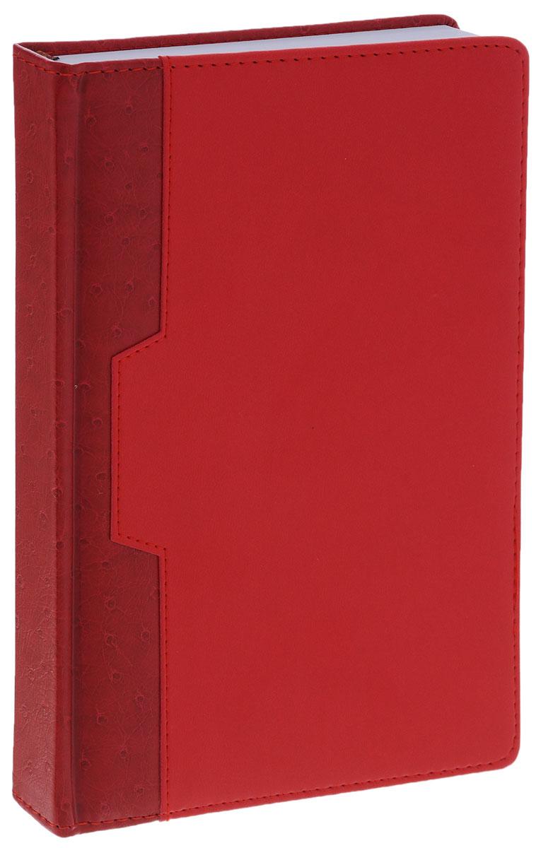 Index Ежедневник Desert недатированный 168 листов цвет красный бордовый72523WDНедатированный ежедневник Index Desert - это один из удобных способов систематизации всех предстоящих событий и незаменимый помощник для каждого. Обложка выполнена из высококачественной искусственной кожи с прострочкой по периметру и тиснением. Внутренний блок на 336 страниц выполнен из белой офсетной бумаги с закругленными отрывными уголками. Ежедневник содержит страницу для заполнения личных данных, календарь с 2015 по 2018 год, справочно-информационный блок, телефонно-адресную книгу, а также ляссе для быстрого поиска нужной страницы. Все планы и записи всегда будут у вас перед глазами, что позволит легко ориентироваться в графике дел, событий и встреч.