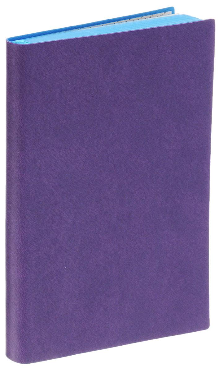 Index Ежедневник Colorplay недатированный 128 листов цвет фиолетовыйM-1150640N-1Недатированный ежедневник Index Colorplay - это один из удобных способов систематизации всех предстоящих событий и незаменимый помощник для каждого. Обложка выполнена из высококачественной искусственной кожи с тиснением. Внутренний блок на 256 страниц выполнен из состаренной офсетной бумаги с голубым обрезом. Ежедневник содержит страницу для заполнения личных данных, календарь с 2016 по 2017 год, а также ляссе с металлической пряжкой для быстрого поиска нужной страницы. Все планы и записи всегда будут у вас перед глазами, что позволит легко ориентироваться в графике дел, событий и встреч.