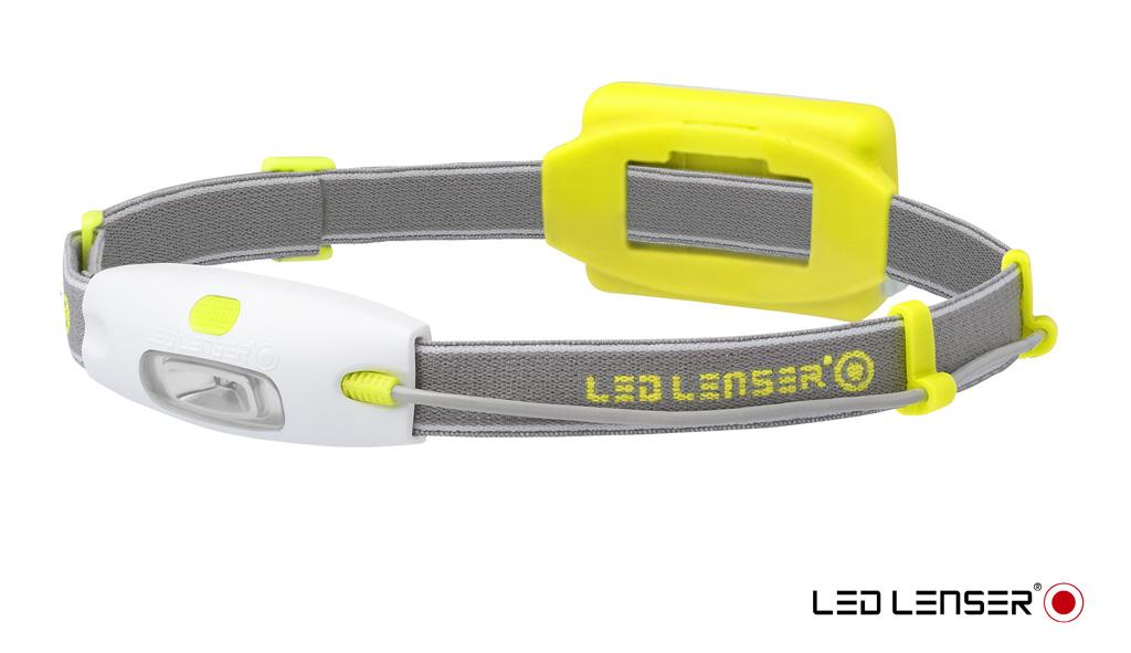 Фонарь налобный LED Lenser NEO, цвет: желтыйKOC-H19-LEDОчень легкий налобный фонарь LED Lenser NEO подойдет для ежедневного использования. Он будет удобен при езде на велосипеде, при беге или при прогулках. Корпус фонаря выполнен из прочного пластика.Характеристики:- Световой поток- 90 лм;- Питание - 3 х ААА;- Количество светодиодов - 4 (3 белых, 1 красный);- Максимальное время свечения - 10 часов;- Эффективная дальность свечения луча 10 м.