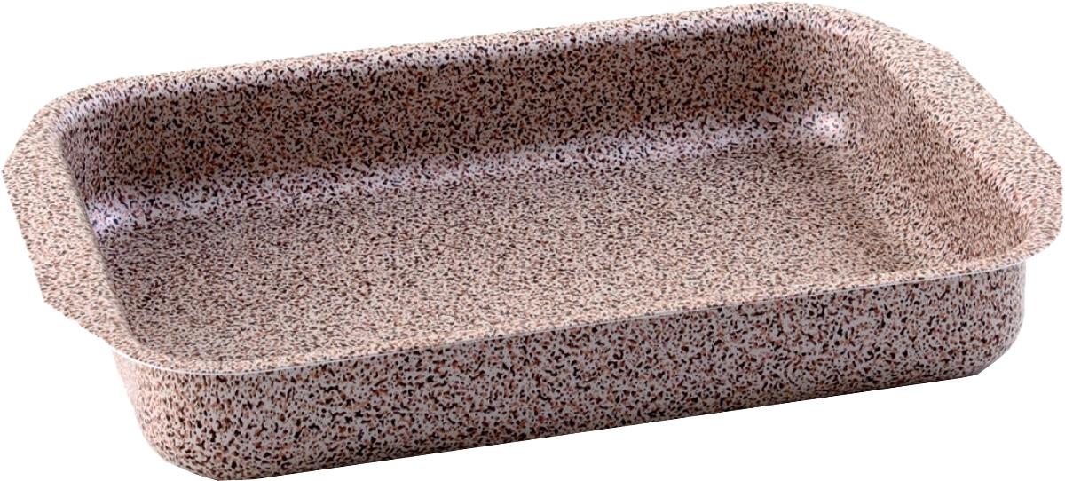 Противень Vari, 27 х 35 х 5,5 см. MR213503600625Minerale - штампованная посуда с современным антипригарным покрытием, в каменном дизайне. Корпус толщиной до 2,8 мм обеспечивает быстрый равномерный нагрев, а современное долговечное антипригарное покрытие повышенной прочности сделает приготовление пищи комфортным и безопасным. Удобная и изящная итальянская ручка эффектом So-Touch из последней коллекции. Сочетание привлекательного внешнего вида и отличных антипригарных свойств делает посуду линии Minerale прекрасной альтернативой дорогой «каменной» посуде, но по доступной для многих цене. Линия Minerale рассчитана на потребителей, следящих за модой и ценящих в посуде надежность, качество и безопасность.