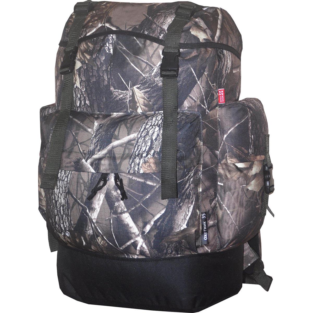 Рюкзак для охоты HunterMan Nova Tour Охотник 50 V3 км, цвет: лес, 50 л95827-705-00Рюкзак для охоты Hunter Nova Tour Охотник 50 V3 км - заслуженный ветеран и лидер продаж в своей серии. Простой, надежный, проверенный временем и километрами дорог. Компактность рюкзака обеспечит маневренность, а четко выверенная высота крепления плечевых лямок и отсутствие высокого верхнего клапана расширит обзор.