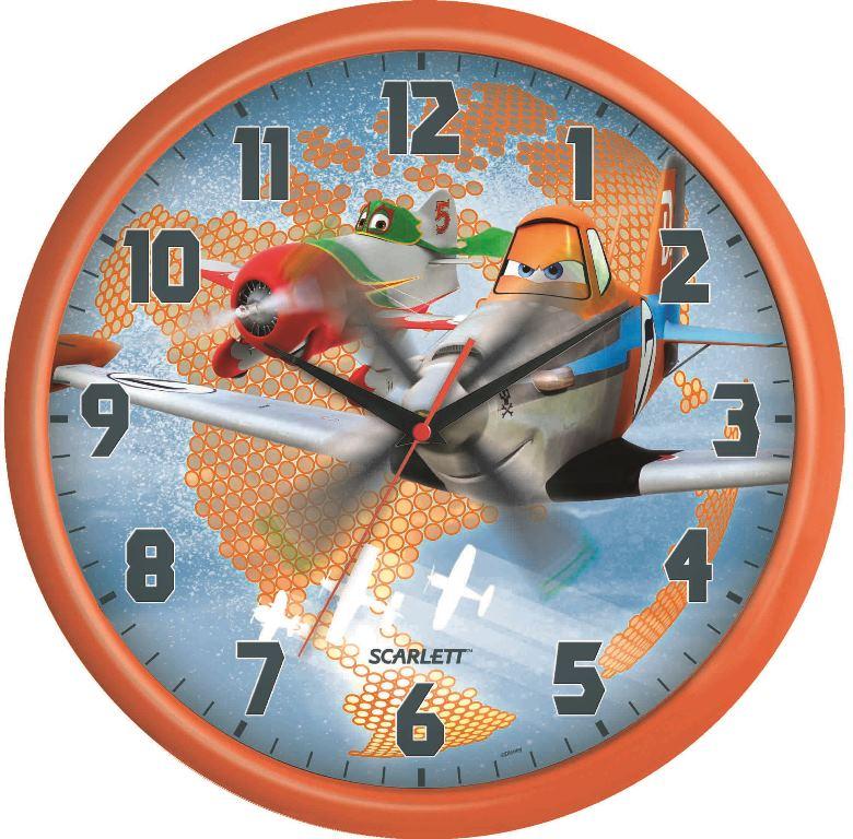 Часы настенные Scarlett, диаметр 29 см. SC - WCD12PL300074_ежевикаНастенные кварцевые часы Scarlett, изготовленные из пластика, прекрасно впишутся в интерьер вашего дома. Круглые часы имеют три стрелки: часовую, минутную и секундную, циферблат защищен прозрачным пластиком. Часы работают от 1 батарейки типа АА напряжением 1,5 В (батарейка в комплект не входит). Часы бренда Scarlett - это надежность, качество и изящность стиля во все времена.Диаметр часов: 29 см.