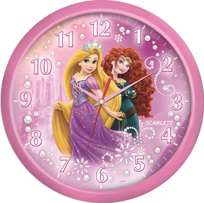Часы настенные Scarlett, диаметр 29 см. SC - WCD10P300194_сиреневый/грушаНастенные кварцевые часы Scarlett, изготовленные из пластика, прекрасно впишутся в интерьер вашего дома. Круглые часы имеют три стрелки: часовую, минутную и секундную, циферблат защищен прозрачным пластиком. Часы работают от 1 батарейки типа АА напряжением 1,5 В (батарейка в комплект не входит). Часы бренда Scarlett - это надежность, качество и изящность стиля во все времена.Диаметр часов: 29 см.