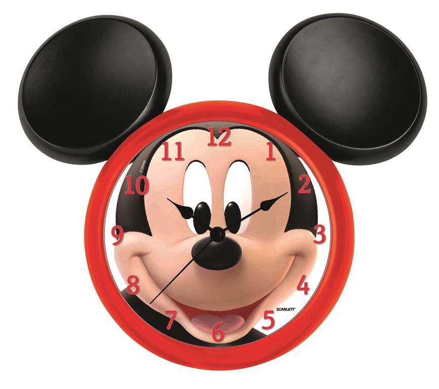 Часы настенные Scarlett, диаметр 23 см. SC - WCD13M94672Настенные кварцевые часы Scarlett, изготовленные из пластика, прекрасно впишутся в интерьер вашего дома. Круглые часы имеют три стрелки: часовую, минутную и секундную, циферблат защищен прозрачным пластиком. Часы работают от 1 батарейки типа АА напряжением 1,5 В (батарейка в комплект не входит). Часы бренда Scarlett - это надежность, качество и изящность стиля во все времена.Диаметр часов: 23 см.