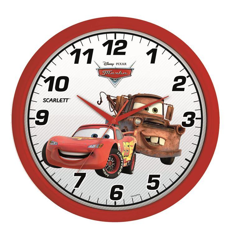 Часы настенные Scarlett, диаметр 29 см. SC - WCD04C40731Настенные кварцевые часы Scarlett, изготовленные из пластика, прекрасно впишутся в интерьер вашего дома. Круглые часы имеют три стрелки: часовую, минутную и секундную, циферблат защищен прозрачным пластиком. Часы работают от 1 батарейки типа АА напряжением 1,5 В (батарейка в комплект не входит). Часы бренда Scarlett - это надежность, качество и изящность стиля во все времена.Диаметр часов: 29 см.