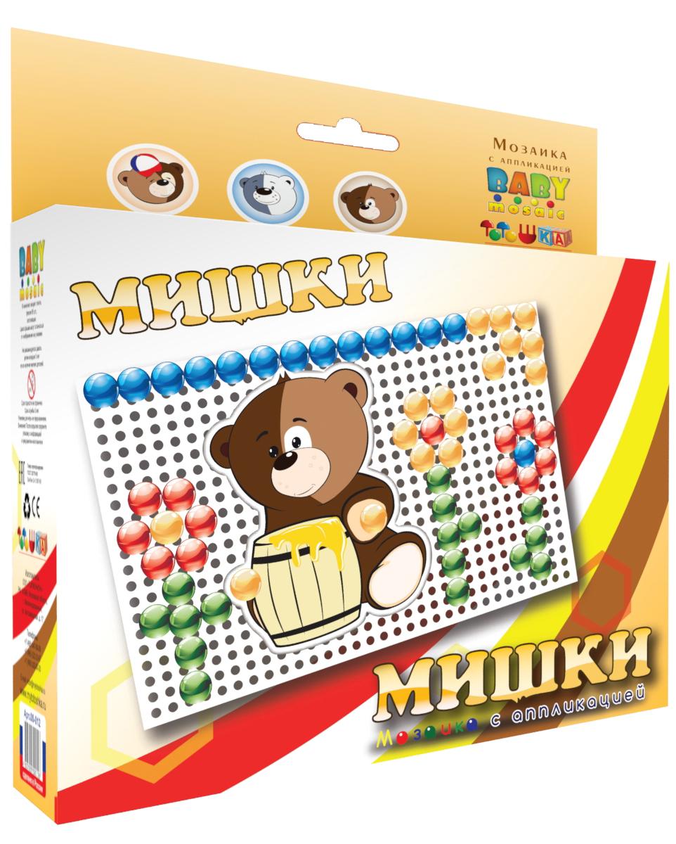 Тотошка Мозаика Мишки мозаика с аппликацией toysunion сказка 00 186