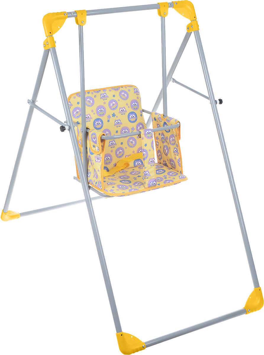 Фея Качели Чарли цвет желтый фиолетовый детские качели в квартиру