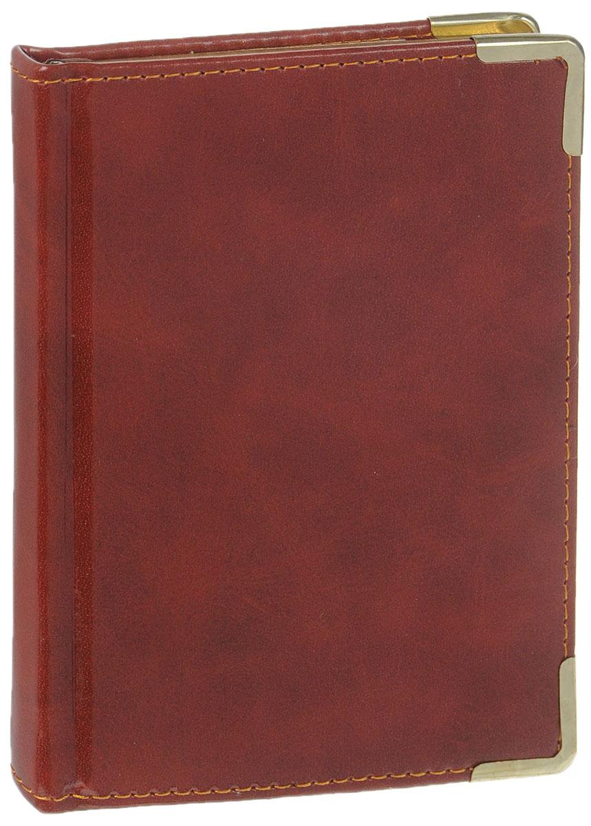 Listoff Записная книжка Ancient 96 листов в клеткуC13S400035Записная книжка Listoff Ancient - незаменимый атрибут современного человека, необходимый для рабочих и повседневных записей в офисе и дома. Записная книжка содержит 96 листов формата А6 в клетку. Обложка выполнена из искусственной кожи и прошита по периферии нитками. Металлические скругленные углы защищают обложку при активном использовании. Внутренний блок изготовлен из высококачественной плотной состаренной бумаги с золотым обрезом, что гарантирует чистоту записей и отсутствие клякс. Атласное ляссе поможет быстро найти нужную страницу.Записная книжка Listoff Ancient станет достойным аксессуаром среди ваших канцелярских принадлежностей. Она подойдет как для деловых людей, так и для любителей записывать свои мысли, рисовать скетчи, делать наброски.
