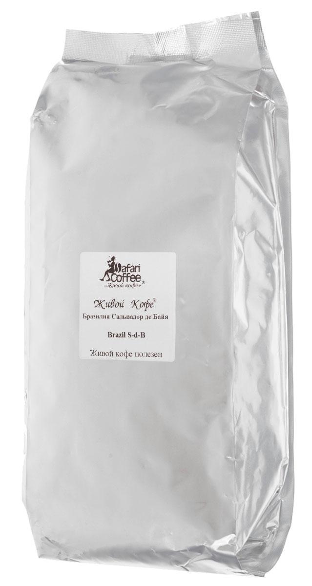 Живой Кофе Бразилия Сальвадор де Байя кофе в зернах, 1 кг (промышленная упаковка)0120710Бразилия Сальвадор де Байя произрастает на плоскогорьях в непосредственной близости от границы с тропической зоной и здесь часто бывают заморозки. Исключительная особенность этого кофе заключается в том, что он является морозоустойчивым. Тем самым похолодание только усиливает великолепные характеристики данного сорта.