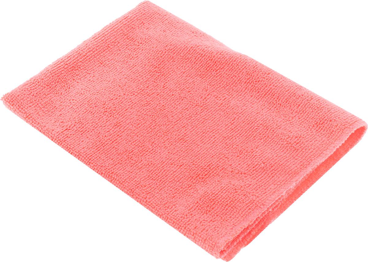 Салфетка автомобильная EvaAuto, универсальная, цвет: коралловый, 45 х 70 см106-026Универсальная автомобильная салфетка EvaAuto, выполненная из микрофибры, идеально подходит для уборки. В сухом виде применяется для вытирания пыли и легких загрязнений, во влажном - для удаления загрязнений с любых поверхностей без применения моющих средств. Не оставляет разводов и ворсинок, полностью впитывает влагу. Сохраняет эффект даже после многократных стирок. Размер салфетки: 45 х 70 см.
