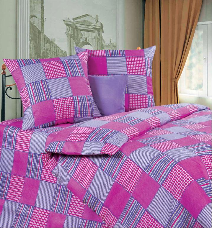 Комплект белья P&W Утро в деревне, 2-спальный, наволочки 69х69, цвет: белый, розовый, фиолетовый391602Комплект постельного белья P&W Утро в деревне выполнен из микрофибры. Комплект состоит из пододеяльника, простыни и двух наволочек. Ткань приятная на ощупь, мягкая и нежная, при этом она прочная и хорошо сохраняет форму, легко гладится. Ткань микрофибра - новая технология в производстве постельного белья. Тонкие волокна, используемые в ткани, производят путем переработки полиамида и полиэстера. Такая нить не впитывает влагу, как хлопок, а пропускает ее через себя, и влага быстро испаряется. Изделие не деформируется и хорошо держит форму. Благодаря такому комплекту постельного белья, вы сможете создать атмосферу роскоши и романтики в вашей спальне.