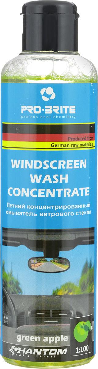 Концентрат омывателя Phantom, зеленое яблоко, 200 мл2615S545JBКонцентрированное ароматизированноесредство Phantom предназначено для мойки стекол и фаравтомобиля через систему омывателяили вручную. Применимо для всех типовстекол и пластиковых поверхностей.Жидкий щелочной низкопенныйконцентрат не содержит агрессивныхи токсичных веществ. Не оставляетразводов и обладает бактерициднымисвойствами. Пожаро- и взрывобезопасен.Значение рН: 11.Состав: вода, ПАВ, гликоли, комплексоны, полимеры, ароматизатор, краситель.
