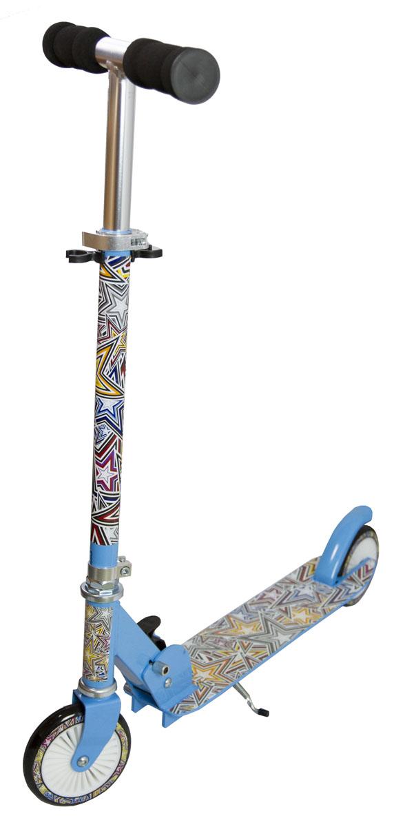 Самокат двухколесный Аtemi 120, цвет: синий. AFS16-1202WRA523700Технические характеристики: Дека 475x100ммМатериал: Алюминий Колеса: 120x24мм, полиуретан Регулировка руля до 76-81-86 см Подшипник: Abec5 Тормоз задним колесомМягкие неопреновые ручки Складной механизм Максимальная нагрузка 50 кг