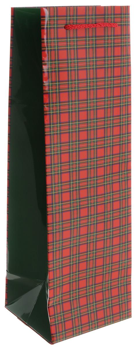 Пакет под бутылку Правила Успеха Шотландка, 40 х 12 х 12 смC0042416Пакет под бутылку Правила Успеха Шотландка выполнен из прочной ламинированной бумаги. Жесткая вставка на дно не позволяет пакету проваливаться под тяжестью бутылки. Изделие декорировано принтом в классическую шотландскую клетку. Для удобной переноски на пакете имеются два шнурка. Такой пакет станет незаменимым дополнением к выбранному подарку. Подарок, преподнесенный в оригинальной упаковке, всегда будет самым эффектным и запоминающимся. Окружите близких людей вниманием и заботой, вручив презент в нарядном, праздничном оформлении.